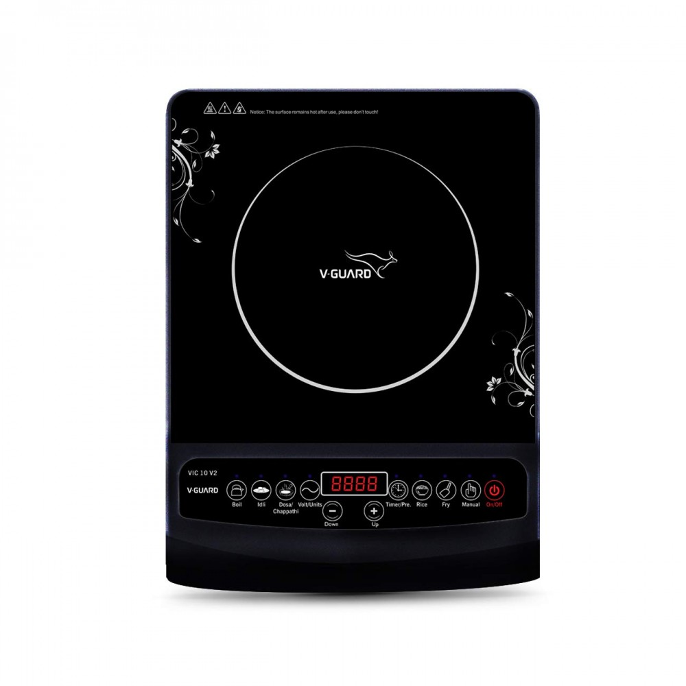V-Guard VIC10 230 V 50 Hz Induction Cooktop
